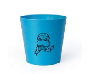 Hydrophil toothbrush mug for bamboo toothbrush kids blue zerowaste ukdistributor hydrophil