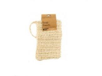 sisal soap pouch sisal bag sisalbag biodegradable hydrophil zerowaste UKdistributor Hydrophil