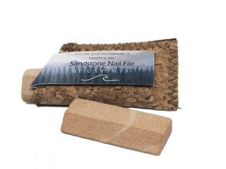 UK distributor Lavinia natural sustainable lifestyle products sandstone nailfile