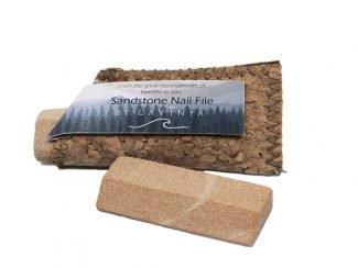 UK distributor Lavinia natural sustainable lifestyle products sandstone nailfile