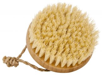 Croll & Denecke Massage brush coconut bristles bamboo handle