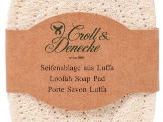 Croll & denecke loofah soap pad dish