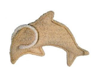 Croll & Denecke loofah sponge dolphin