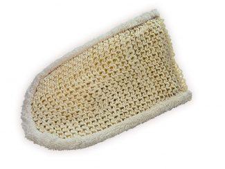 croll & denecke Massage glove sisal