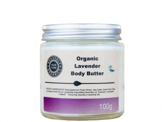 Heavenly Organics Lavender body butter