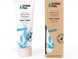 Hydrophil-toothpaste-95%-renewable-materials-ukdistributor