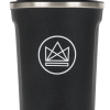 Neon Kactus insulated blavck coffee cup