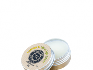 UK Distributor heavenly organics skin care lemon and lime lip balm
