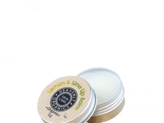 UK Distributor heavenly organics skin care lemon and lime lip balm