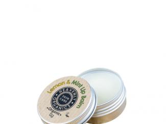 UK Distributor heavenly organics skin care lemon and mint lip balm