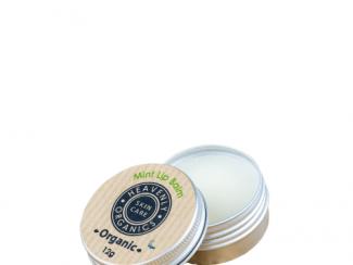 UK Distributor heavenly organics skin care mint lip balm