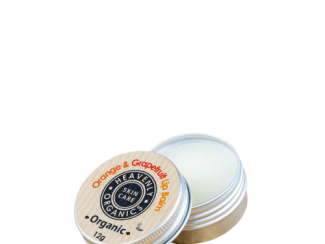 UK Distributor heavenly organics skin care orange and grapefruit lip balm