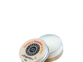 UK Distributor heavenly organics skin care orange and grapefruit lip balm