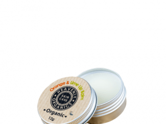 UK Distributor heavenly organics skin care orange and lime lip balm