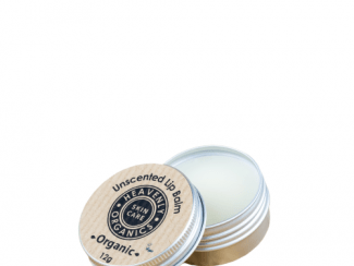 UK Distributor heavenly organics skin care unscented lip balm