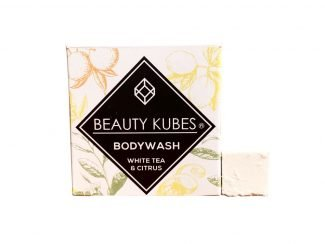UK Distributor Beauty Kubes body wash white tea citrus