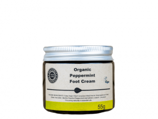 Organic foot cream Peppermint foot butter Heavenly Organics UKdistributor