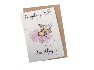 plantable get well card sustainable greeting card UK distributor Green Planet Paper sustainable stationery