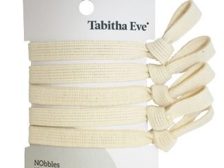 Tabitha Eve Trade Prices UK distributor Nobbles Tabitha Eve no plastic hair bobbles white