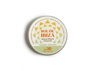 UKdistributor SolDeIbiza natural sunscreen zero waste sunscreen sustainable SPF30