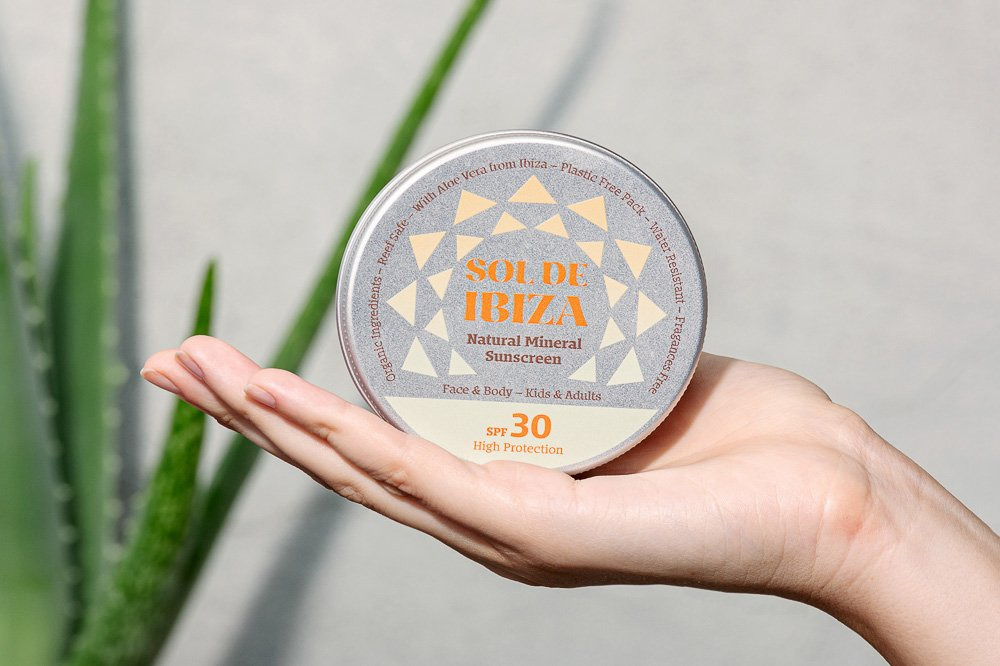 Sol de Ibiza sunscreen natural, organic & zero waste