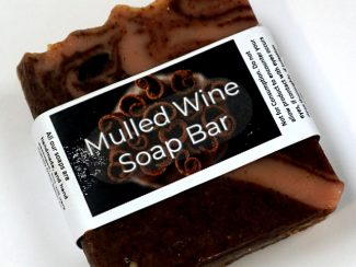 mulled wine soap bar The Natural Spa Soap bars UKdistributor plasticfree low waste living