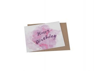 plantable greeting card Green Planet Paper bulk trace pricing happy birthday splash