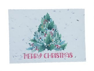 Plantable Christmas Greeting Cards Christmasgreetigcards eco sustainable greeting cards for christmas green planet paper