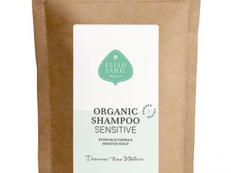 UK Distributor Eliah Sahil organic shampoo wholesale trade organic powder shampoo refill bag sensitive shampoo