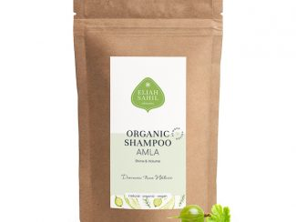 UK Distributor Eliah Sahil organic shampoo wholesale trade organic powder shampoo Amla refill bag