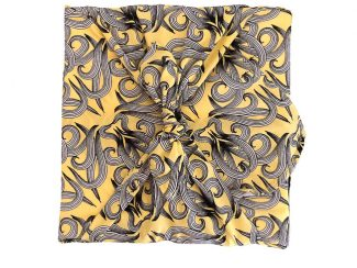UK Distributor FabRap zero waste fabric gift wrapping sunshine nouveau