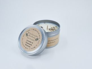 UK Distributor Wholesome Herbals soy candles toxinfree sustainable plasticfree Lavender Chamomile