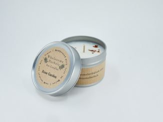 UK Distributor Wholesome Herbals soy candles toxinfree sustainable plasticfree Rose Garden