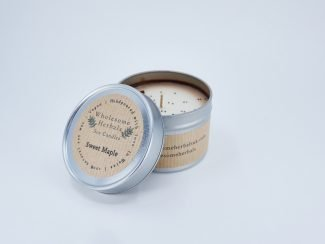 UK Distributor Wholesome Herbals soy candles toxinfree sustainable plasticfree Sweet Maple