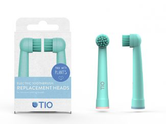 UK distributor TIO plantbased toothbrush heads electrical Oral B plantbased heads- oral lacier