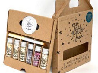 UKdistributor EcoglitterFun biodegradable plasticfree 6pcs PureHeavenbox