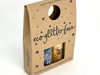 UKdistributor EcoglitterFun biodegradable plasticfree MiniBox Pur Sapphire Citrine