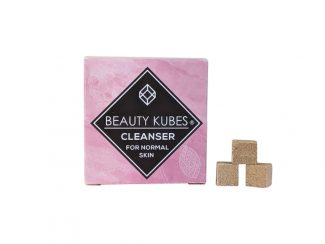UK distributor Beauty Kubes solid cosmetic plastic free cleanser normal skin