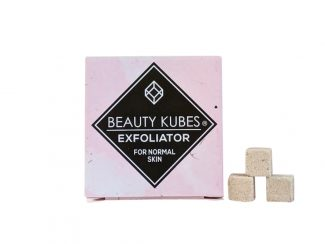 UK distributor Beauty Kubes solid cosmetic plastic free exfoliator normal skin