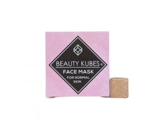 UK distributor beauty Kubes solid cosmetic plastic solid face mask normal skin