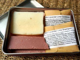 TheNaturalSpa natural cosmetics UKdistributor zero waste travel pack on the go fresh sustainable