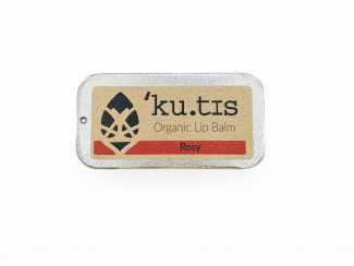 UK distributor Kutis organic skincare products aluminium case lip balm lipbalm rosy