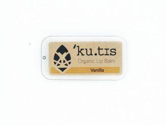 UK ditributor Kutis organic skincare products aluminium case lip balm lipbalm vanilla