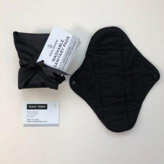 UK distributor MamaDesigns reusable sanitary pads for teens sustainable menstrual pads maxi
