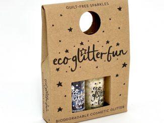 UKdistributor EcoglitterFun compostable ecoglitter glitter eco minibox rose bubblegum