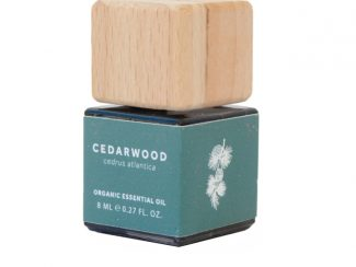 UK distributor BioScents natural home body fragrance products organic essential oil Cedarwood