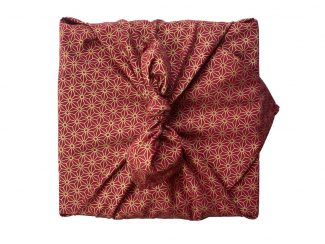 UK distributor FabRap reusable gift wrap fabric furoshiki Ruby