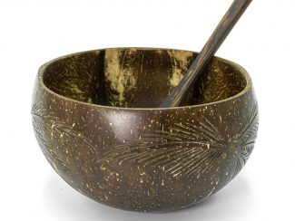 UK distributor Jungle Culture eco reusable coconut bowl trade wholesale leaf