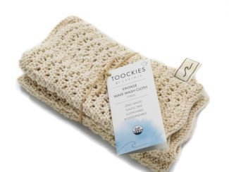 UK distributor Lavinia natural lifestyle products eco Toockies GOTS wash cloth set