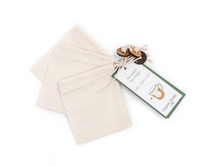 UK distributor Organic Stories sustainable eco friendly lifestyle products organic cotton reusable ea bags